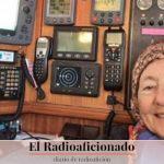 Hazaña de una radioaficionada de 77 años