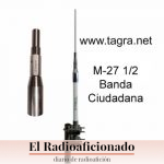 Antena de C.B. Tagra M-27 1/2 onda